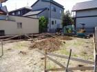 基礎工事の始まり