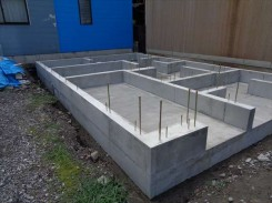 木造3階建て基礎