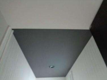 天井クロス貼分け