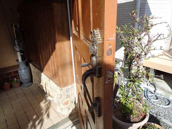 玄関ドアハンドル