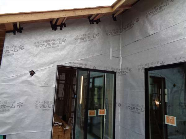 外壁防水紙