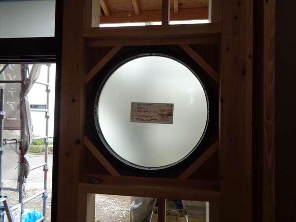 丸型FIX窓