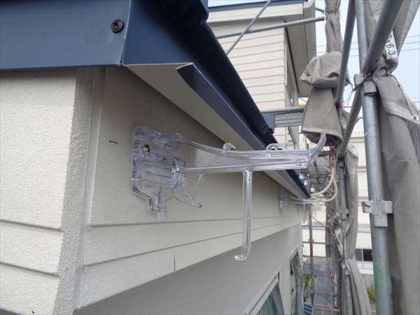 軒樋の取付