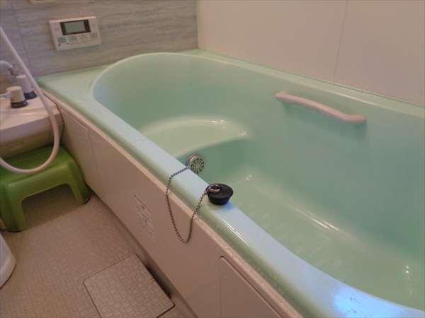 浴槽の排水キャップ