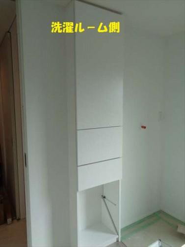 脱衣室収納