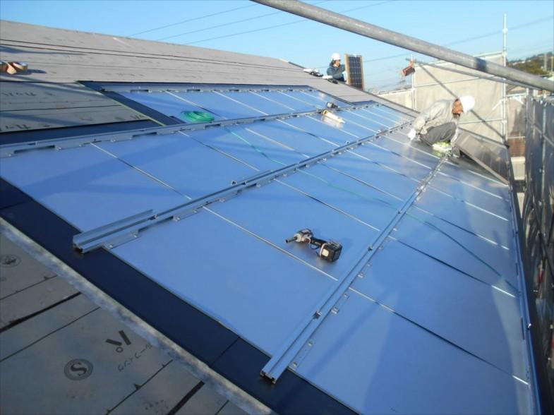 太陽光の設置