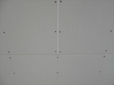 天井ボ-ド貼り