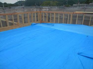屋上防水下地