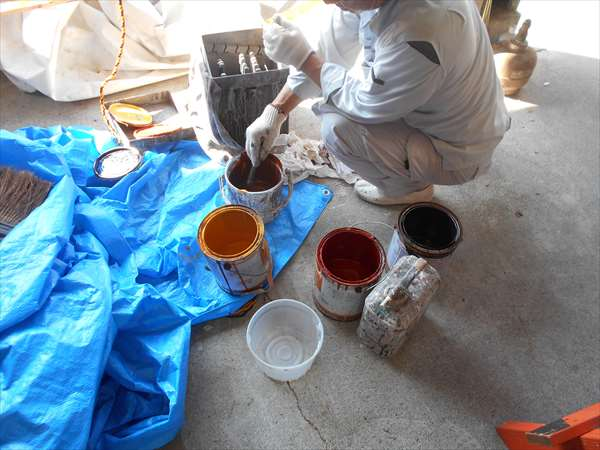 造作の塗装