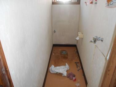 トイレ補修