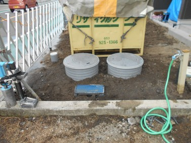 浄化槽の設置