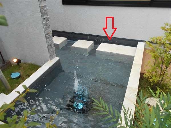 井戸の自噴利用