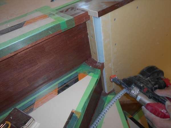 階段壁ボ-ド