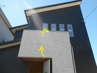 外壁の通気工法