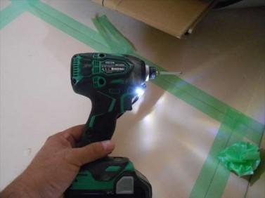 工具の明かり
