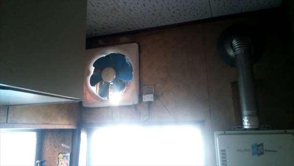 換気扇の取替え