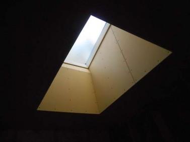 天井から採光