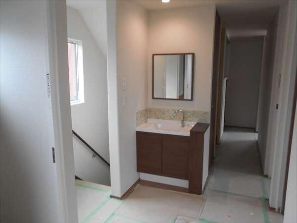 2階の洗面