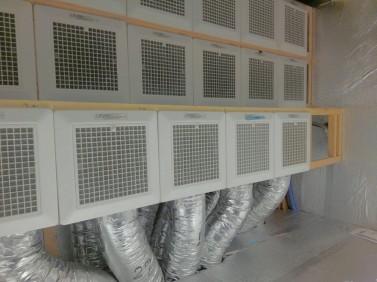 マッハシステム機械室フィルター