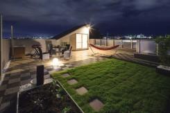 屋上ガーデン 芝生