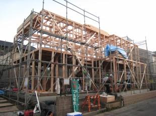 息のあった棟梁達でマルモの家は作られます2