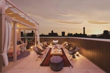 terrace夜