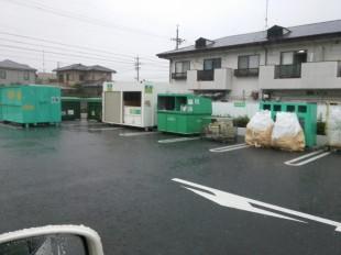 杏林堂のゴミ回収