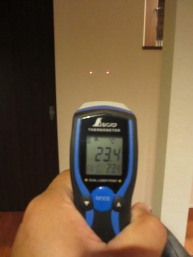 温度センサー測定」