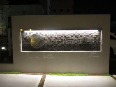 リゾテア看板照明
