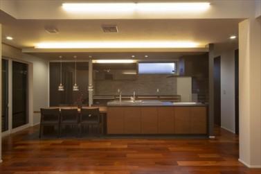 静岡市清水区_オープンキッチン