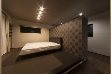 M様邸主寝室