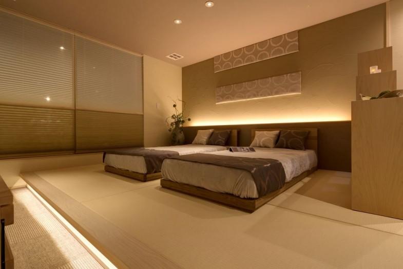桃園モデル主寝室