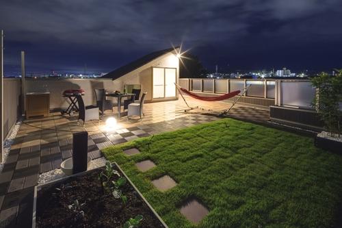 屋上ガーデン