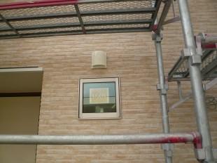 窓とガラリの位置