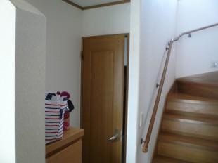 トイレドアの調整