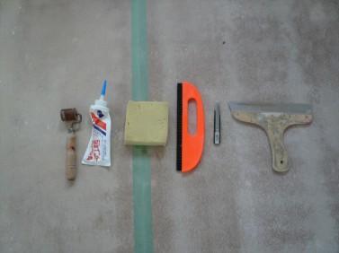 クロス屋さんの道具
