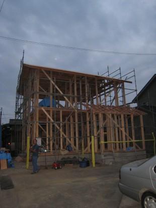 息のあった棟梁達でマルモの家は作られます