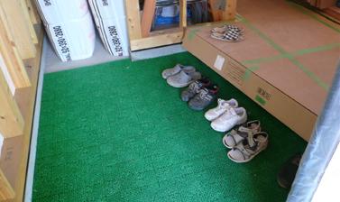 常に靴を揃えている