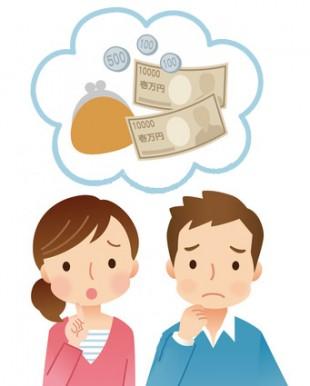 心配する夫婦イメージ